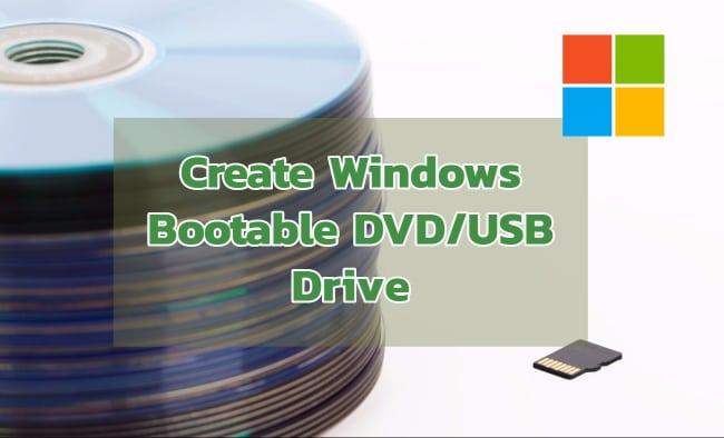 windows bootable dvd
