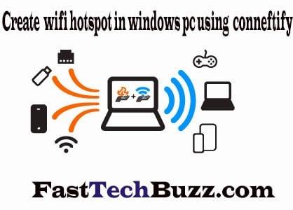 how to create hotspot on windows 8