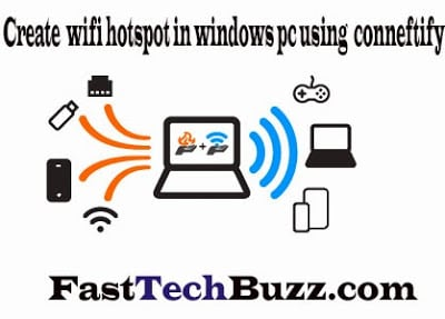 WiFi Hotspot windows 7