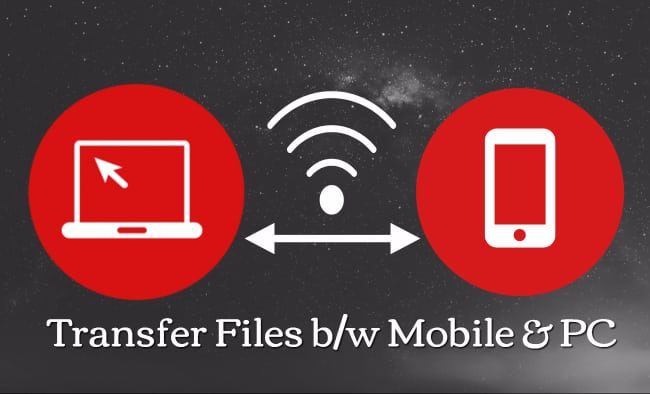 Transfer Files From Windows PC to Android Without USB Cable – Using WiFi