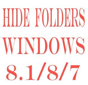 Hide+folders+windows+8.1