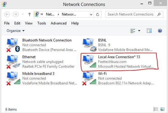 Delete WiFi Hotspot in Windows 8/7/8 1