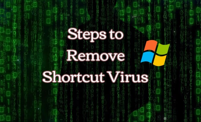Remove Shortcut Creating Virus in PenDrives on Windows 8.1 & Windows 10