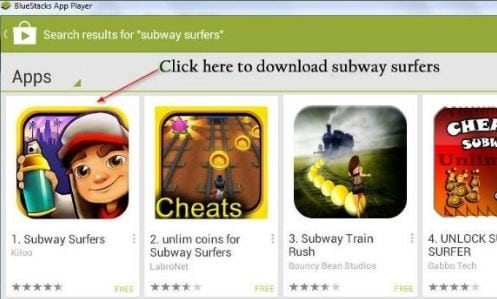Download & Play Subway Surfers For Windows 8.1/8/7 PC/Laptop