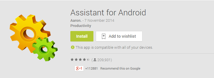 Battery Android Assistant