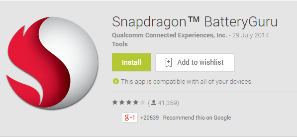 Snapdragon Battery Guru