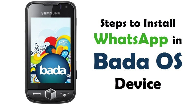 Download WhatsApp For Samsung Bada & WhatsApp for Samsung