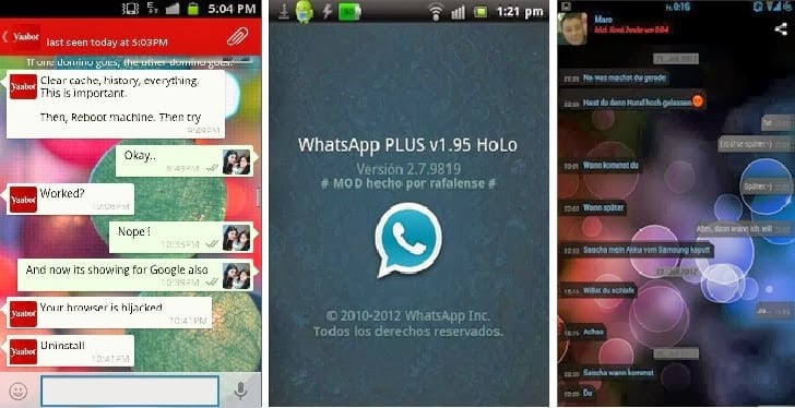 whatsapp plus tricks