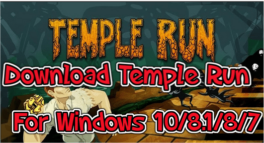 temple run for windows pc laptop