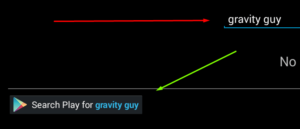 search gravity guy on bluestacks