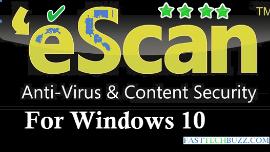 Escan windows 10