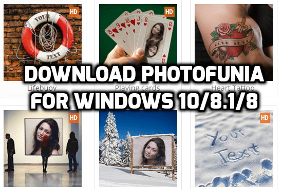 PhotoFunia Download For PC/Laptop For Windows 10/8.1/8