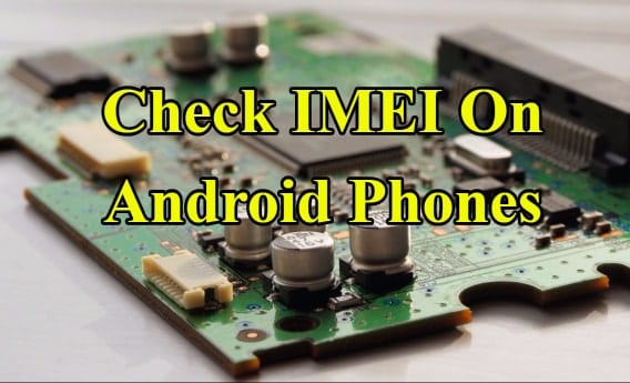 check imei android