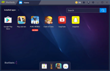 Bluestacks Screen